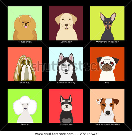 Buddy the dog clipart svg royalty free The Buddy Dog, Collection 03 Stock Photo 127215647 : Shutterstock svg royalty free