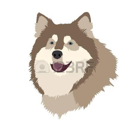 stock vector illustration. Buddy the dog clipart