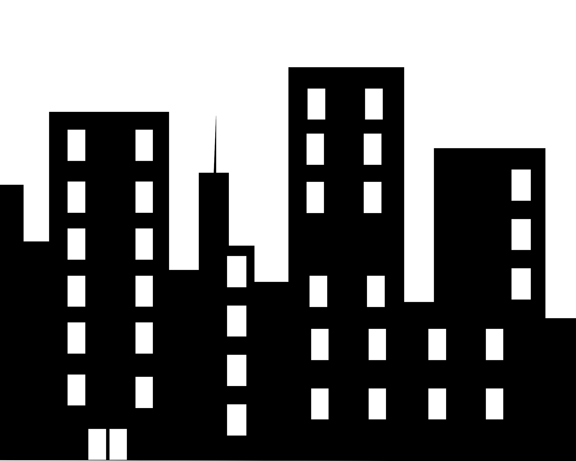 Buildngs clipart vector library download Buildings clipart Fresh Black Building Cliparts Free Download Clip ... vector library download