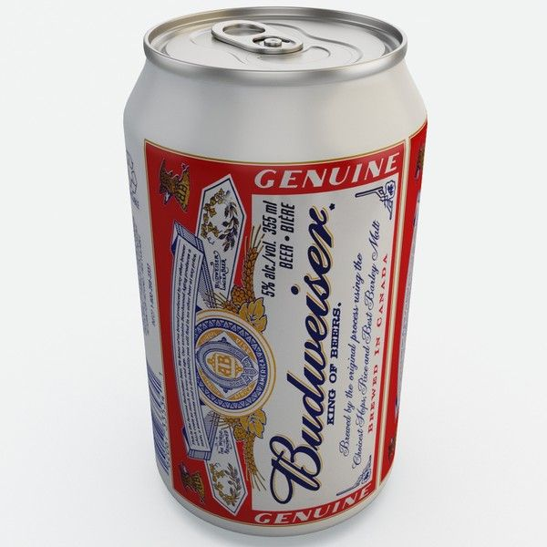 Budweiser can clipart image free download original budweiser beer can   3d budweiser beer - Budweiser Beer Can ... image free download