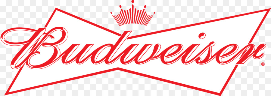 Budweiser logo clipart image black and white Beer Cartoon clipart - Beer, Red, Text, transparent clip art image black and white