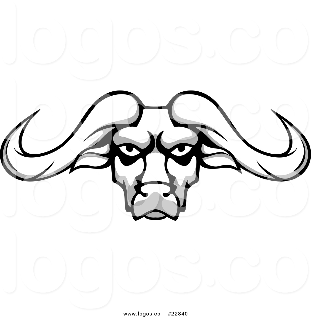Buffalo head mascot clipart vector Buffalo Clipart Free | Free download best Buffalo Clipart Free on ... vector