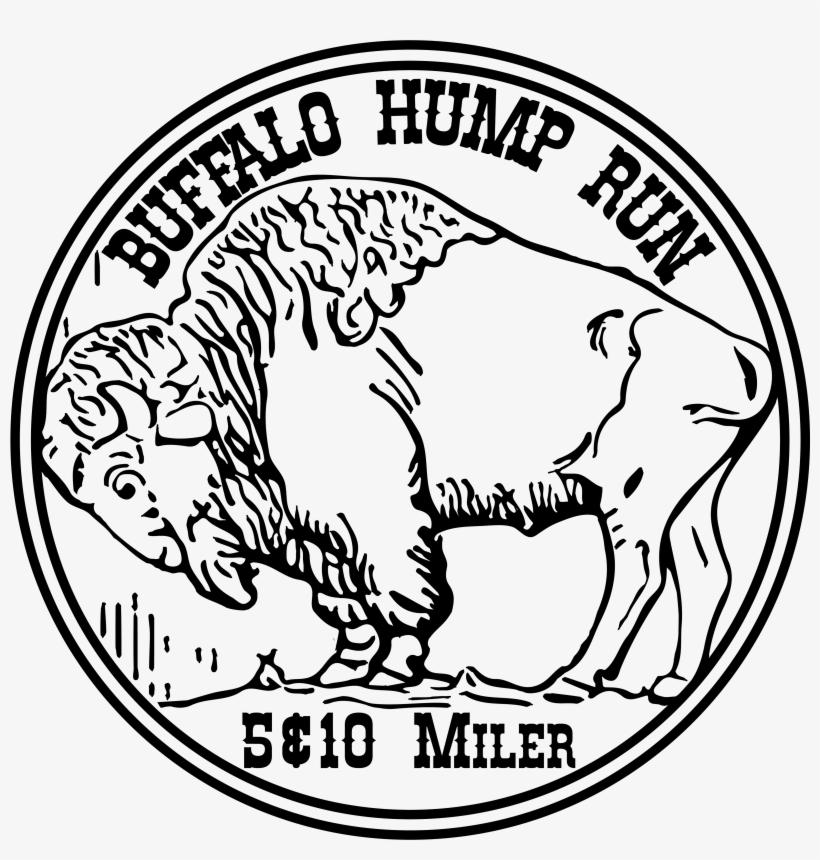 Buffalo nickel clipart vector Buffalo Hump And Buffalo Double Hump 5 And 10 Miler - Buffalo Nickel ... vector