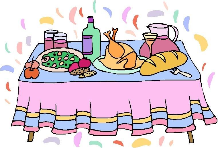 Buffet table clipart vector freeuse Buffet table clipart 2 » Clipart Portal vector freeuse