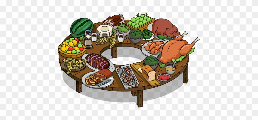 Buffet table clipart clip art royalty free download 360 Degree Buffet Table - Animated Buffet Table - Free Transparent ... clip art royalty free download