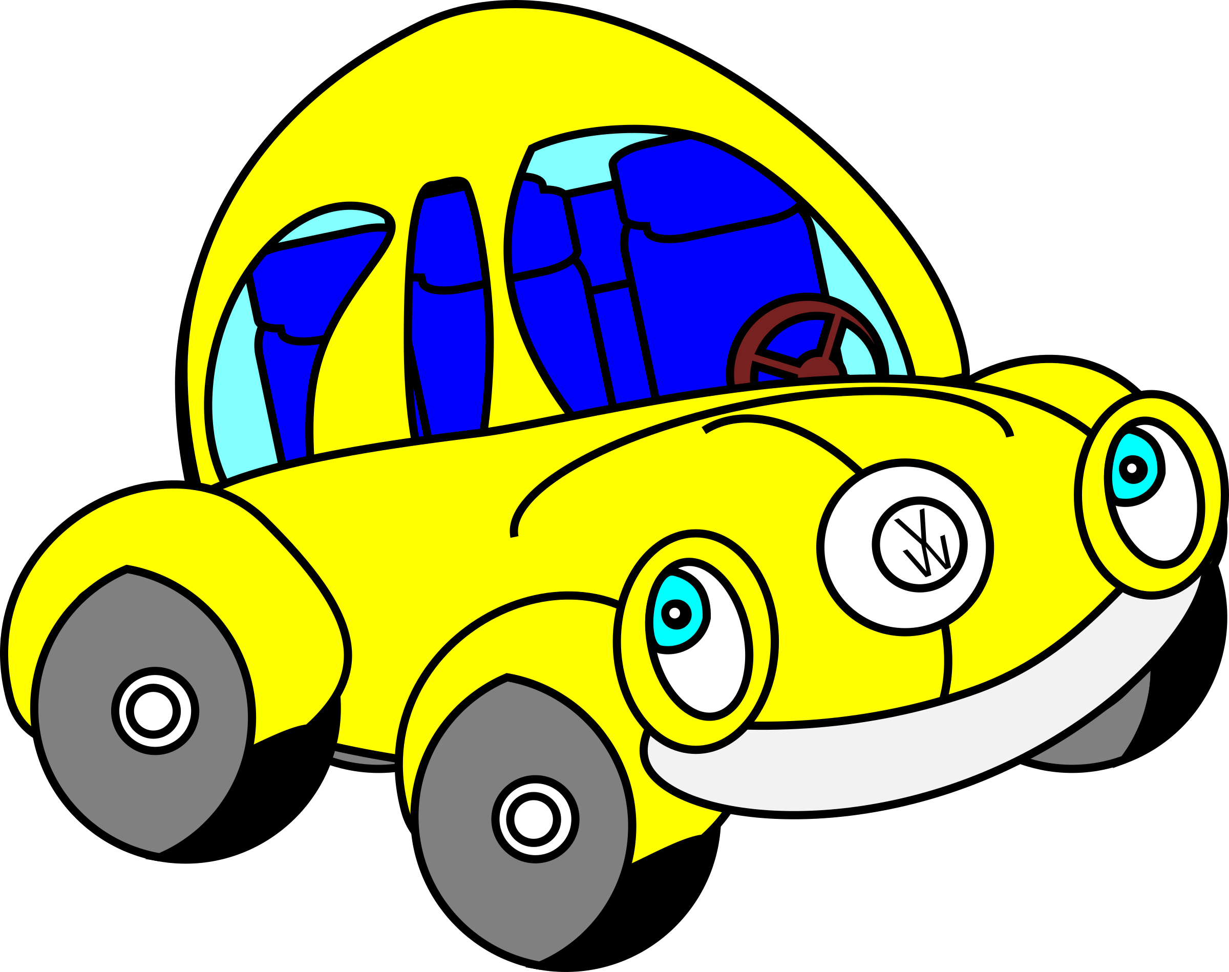 Clipart happy car svg library Clipart - Happy Beatle svg library