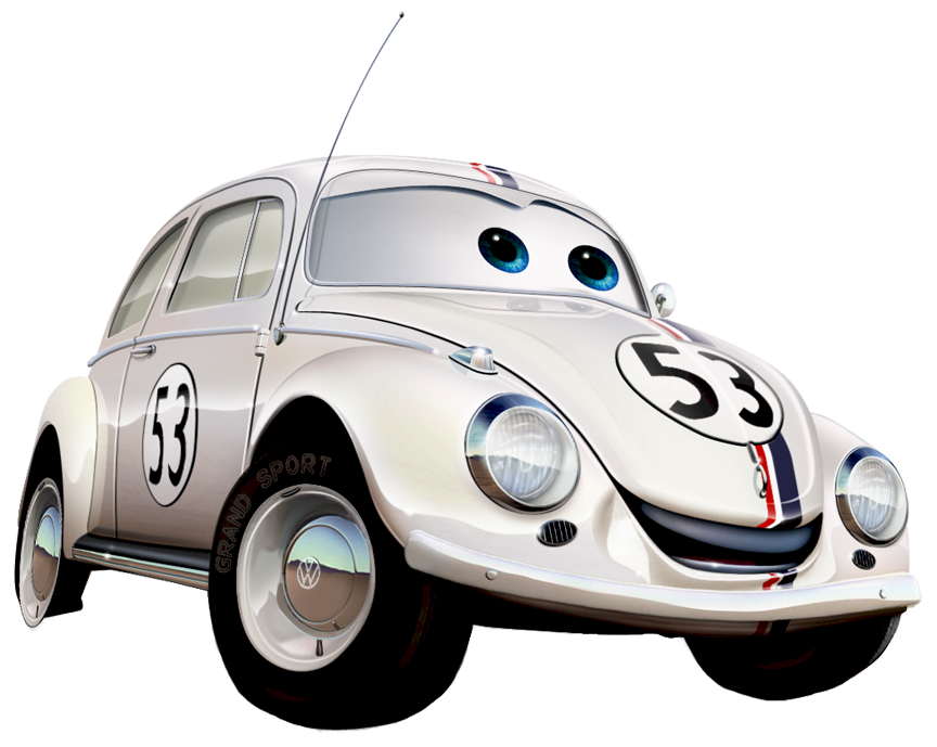 Car love clipart graphic royalty free download Herbie Car Clipart graphic royalty free download