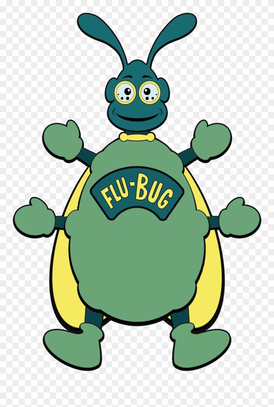 Flu bug clipart