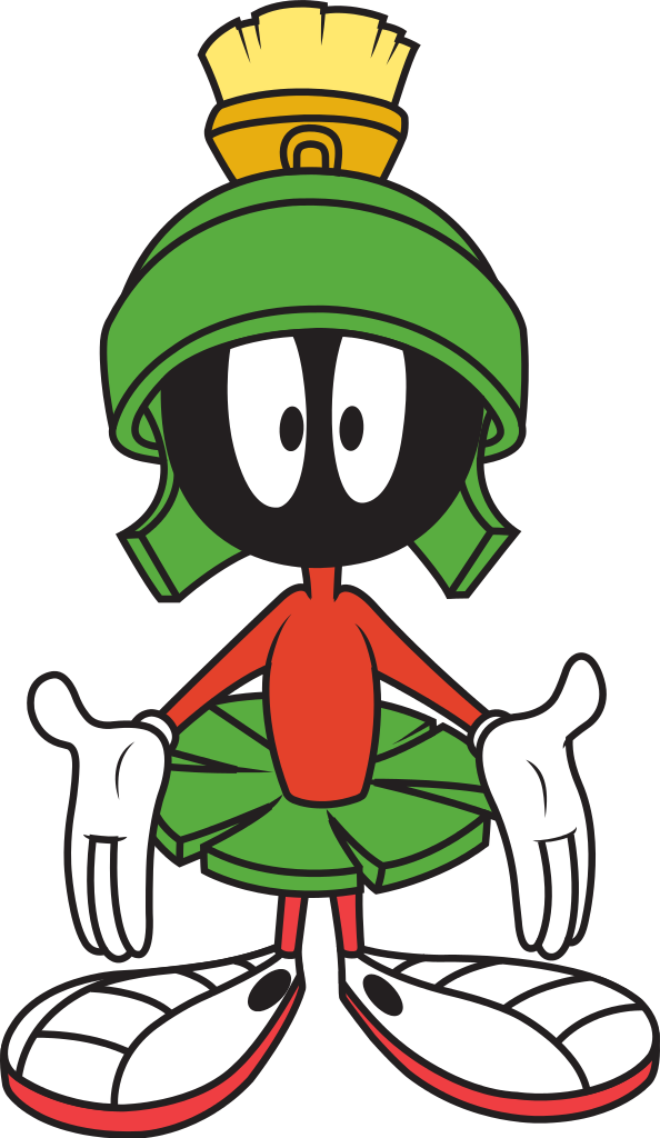Deputy dog clipart. Marvin the martian wikipedia