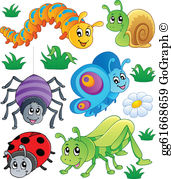 Bugs clipart free clip free stock Bugs Clip Art - Royalty Free - GoGraph clip free stock