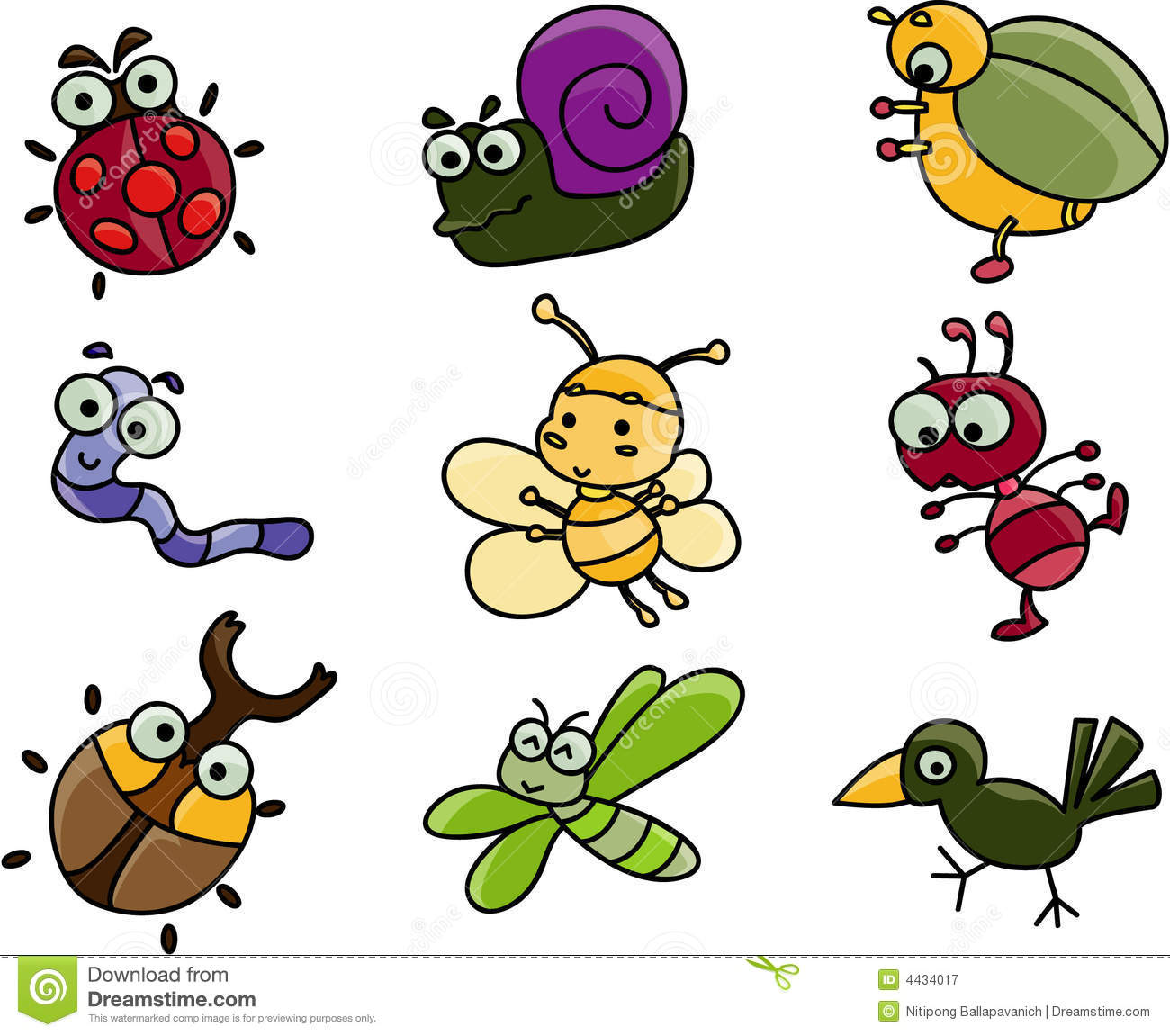 Bugs group clipart picture freeuse library Cute Cartoon Bugs Group with 52+ items picture freeuse library