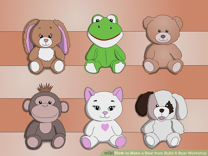 Build a bear workshop clipart image free stock How to Make a Bear from Build A Bear Workshop: 7 Steps image free stock