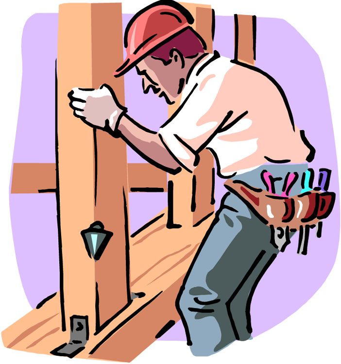 Carpentry building house clipart png royalty free stock Can I Be an Owner/Builder for my Timber Frame House? png royalty free stock