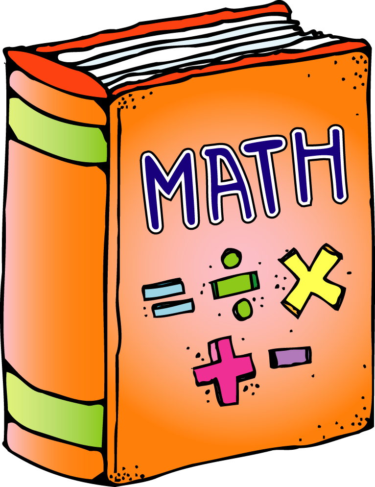First grade a la. Cute math book clipart images