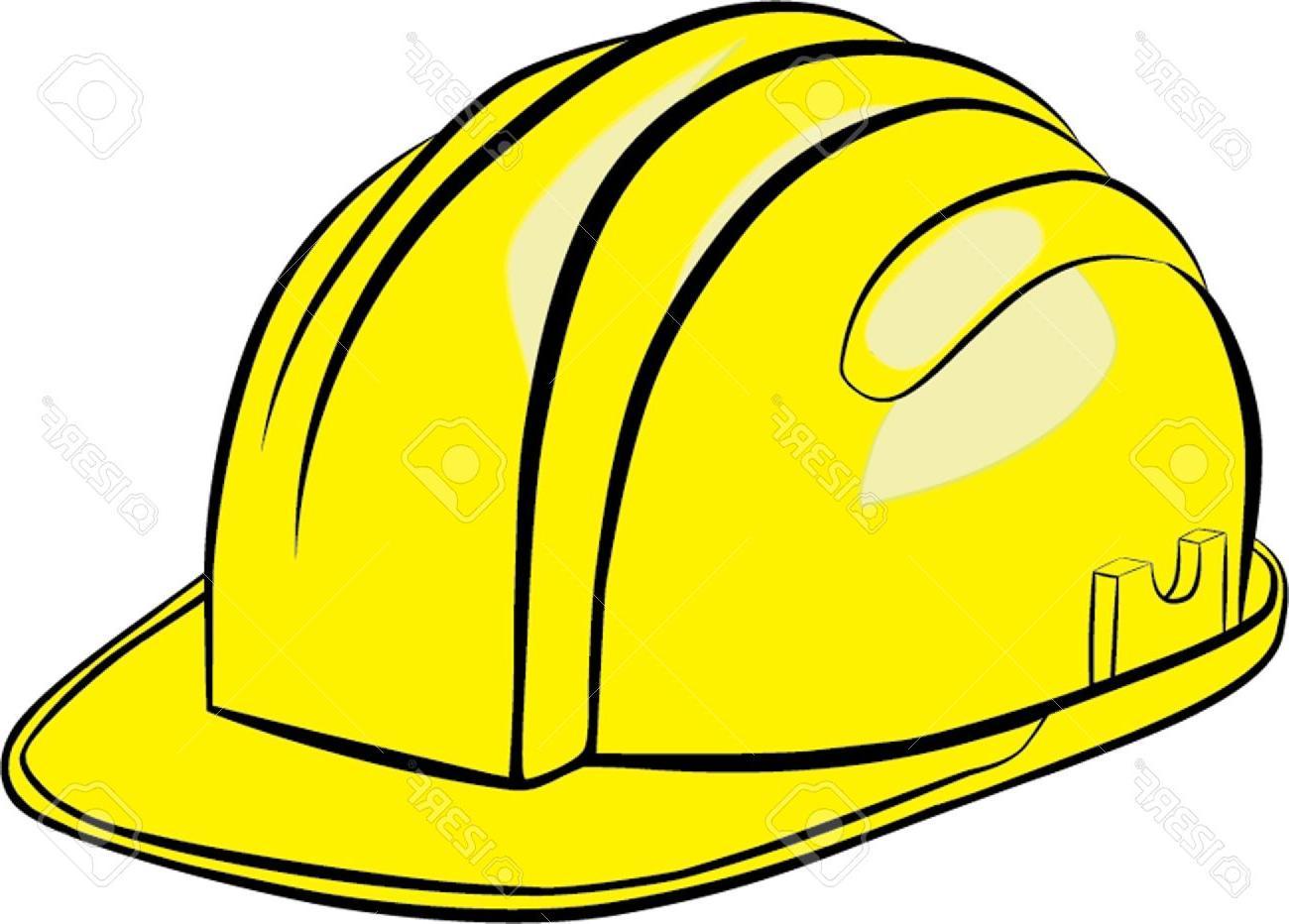 Working helmet clipart