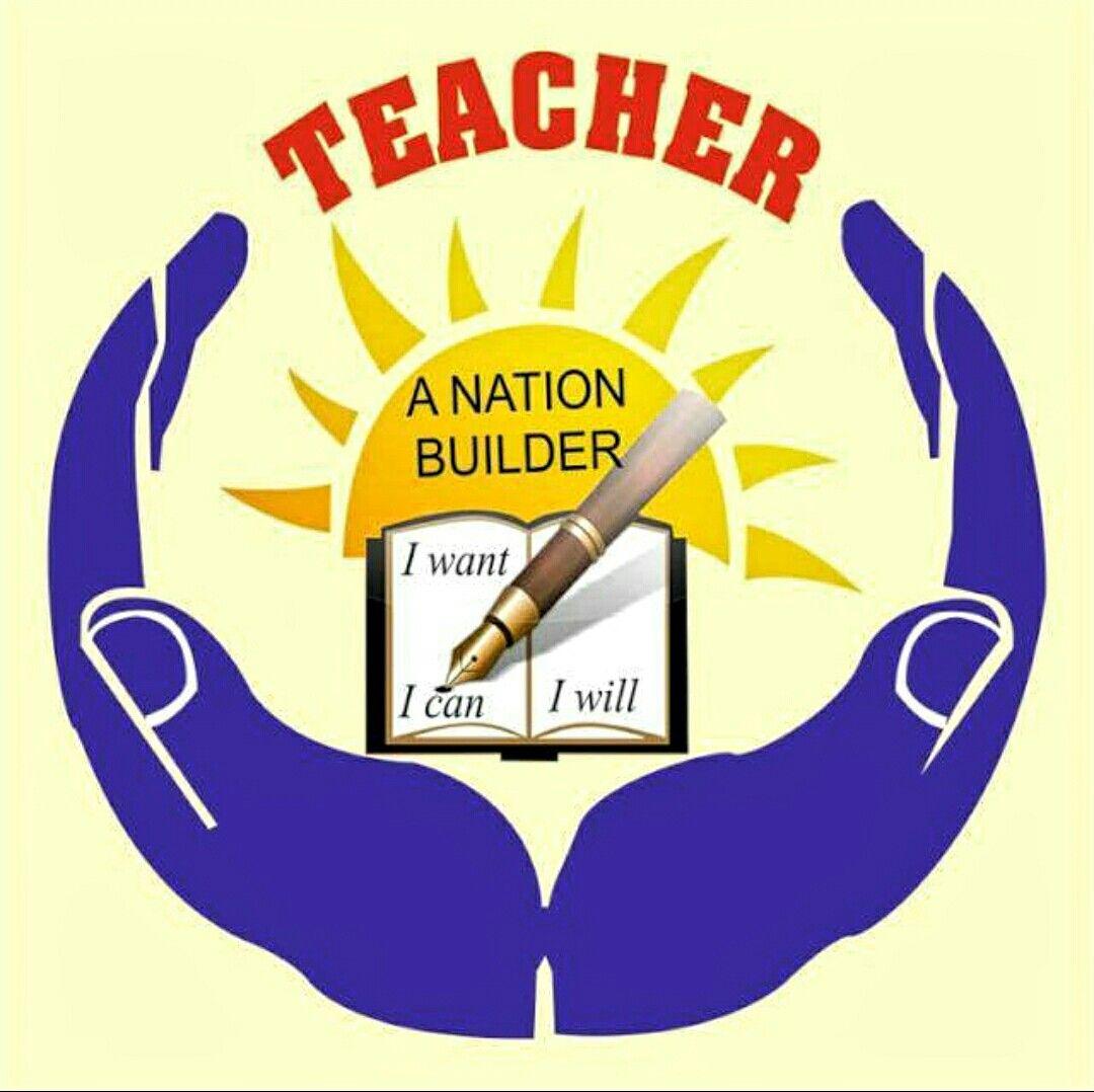 Builders logo clipart clip art royalty free library Teachers Logo Teacher~A Nation Builder | teachers | Teacher logo ... clip art royalty free library