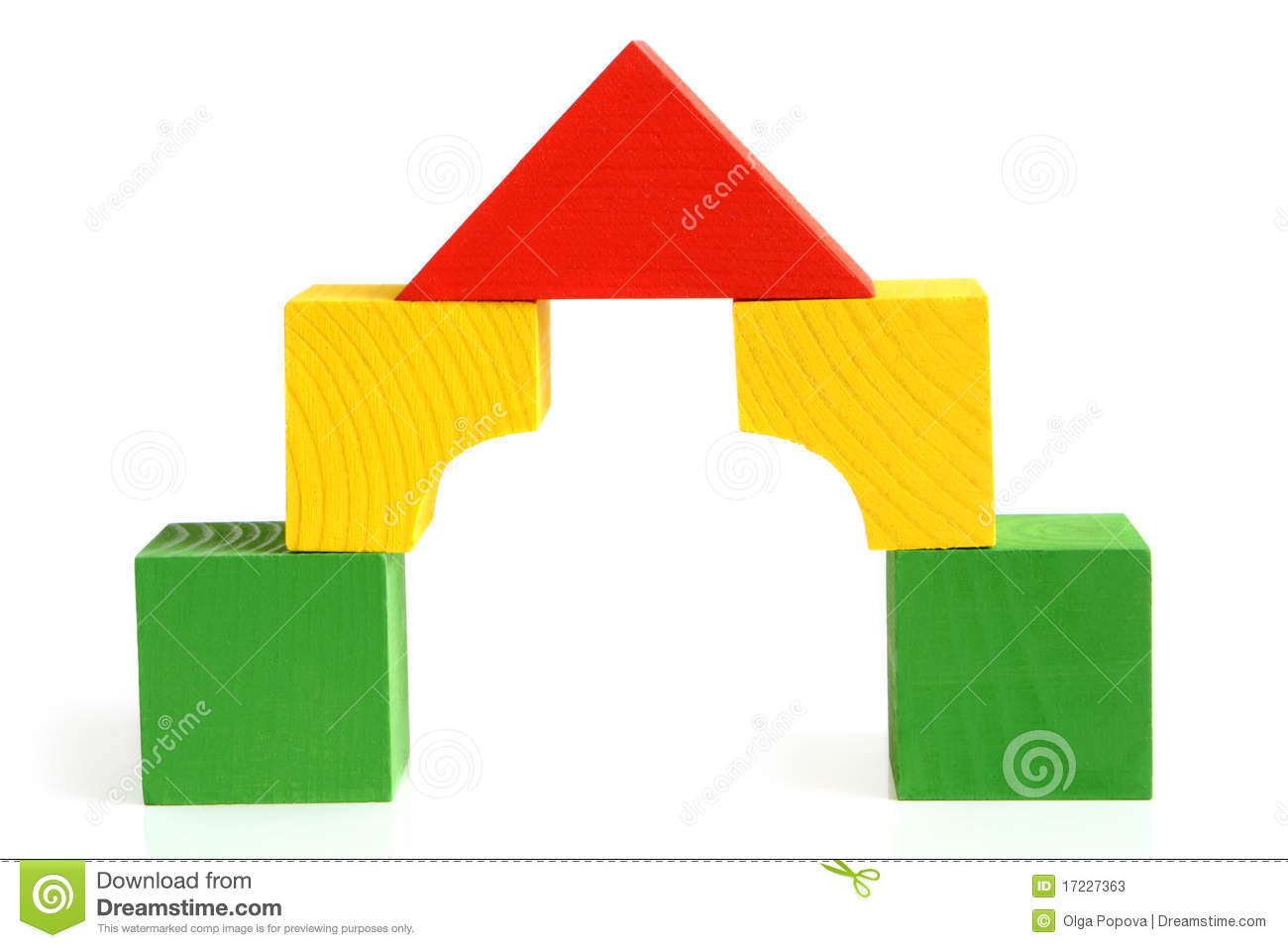Building a house with wooden blocks clipart picture transparent library Building a house with wooden blocks clipart - ClipartFest picture transparent library