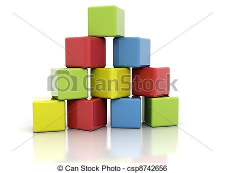 Building block clipart clip art black and white stock Blocks Illustrations and Clip Art. 109,863 Blocks royalty free ... clip art black and white stock