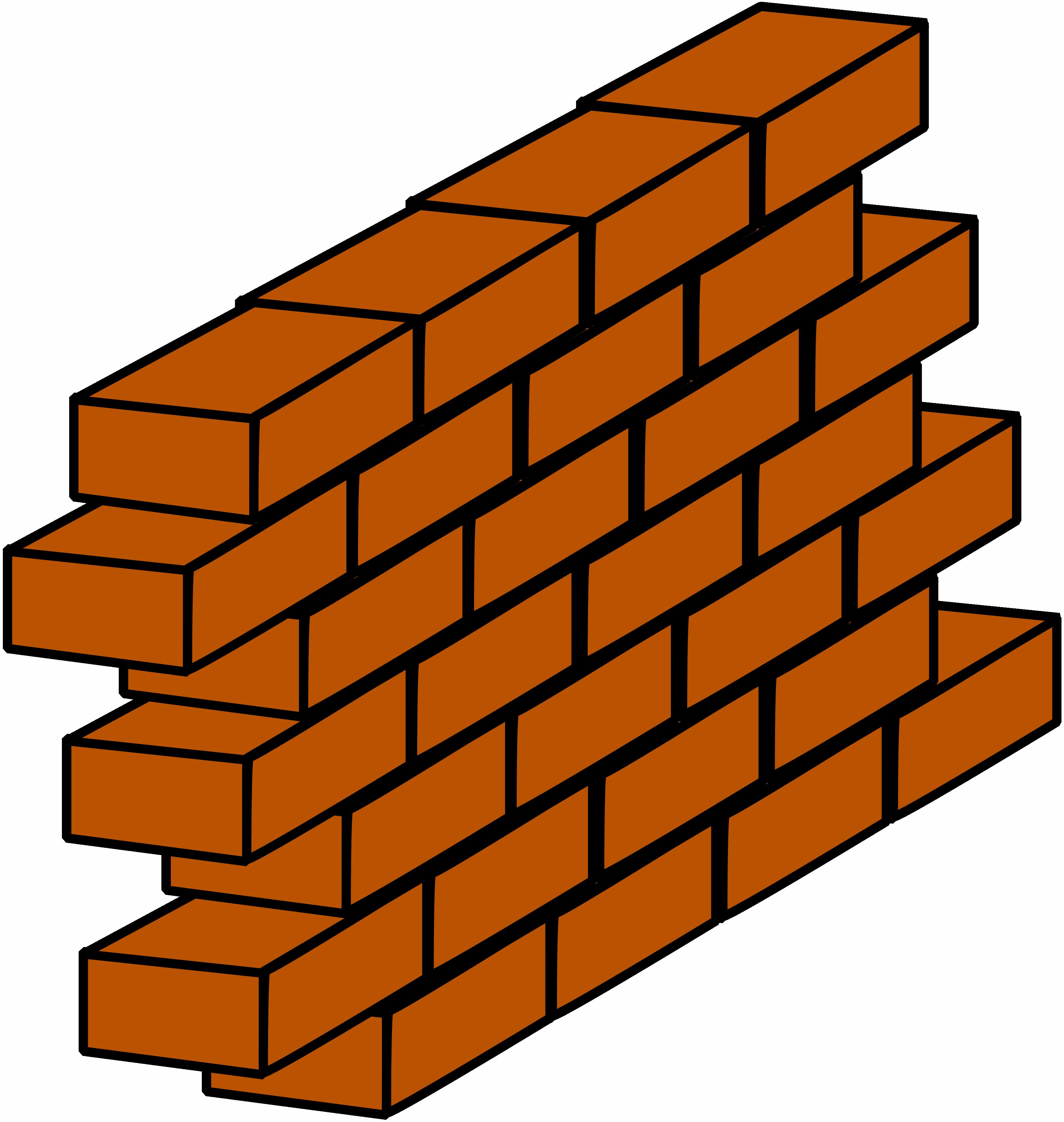 Building blocks clip art clipart graphic freeuse library Brick Clip Art Pattern | Clipart Panda - Free Clipart Images graphic freeuse library