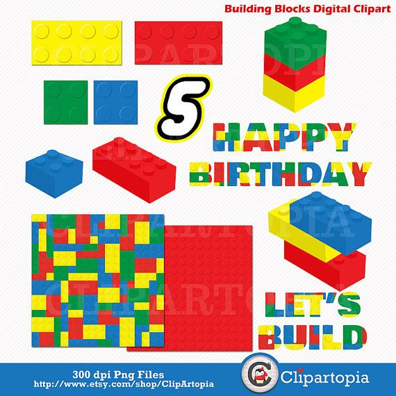 Building blocks clipart birthday boy jpg download 1000+ images about Rylan 1st Birthday - Lego Land Party on ... jpg download