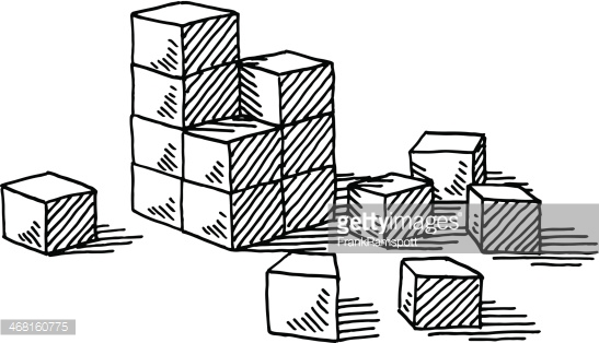 Building blocks clipart black and white banner black and white download Construction Crane Building Blocks Drawing Vector Art | Getty Images banner black and white download