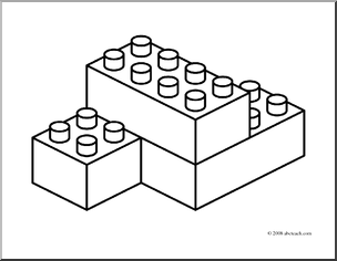 Building blocks clipart black and white clipart transparent library Black And White Blocks Clipart - Clipart Kid clipart transparent library