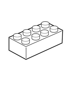 Building blocks clipart blank outline. How to draw a