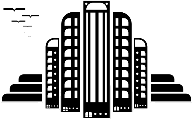 Building clipart black and white png banner freeuse stock City Art Deco - /buildings/city/city_buildings/City_Art_Deco.png.html banner freeuse stock