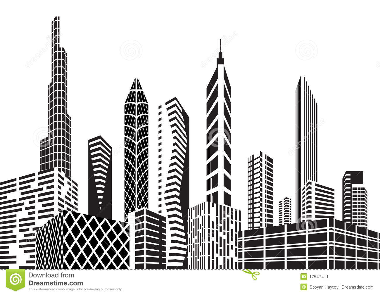 Building clipart black and white png svg transparent library Business building clipart black and white - ClipartFest svg transparent library