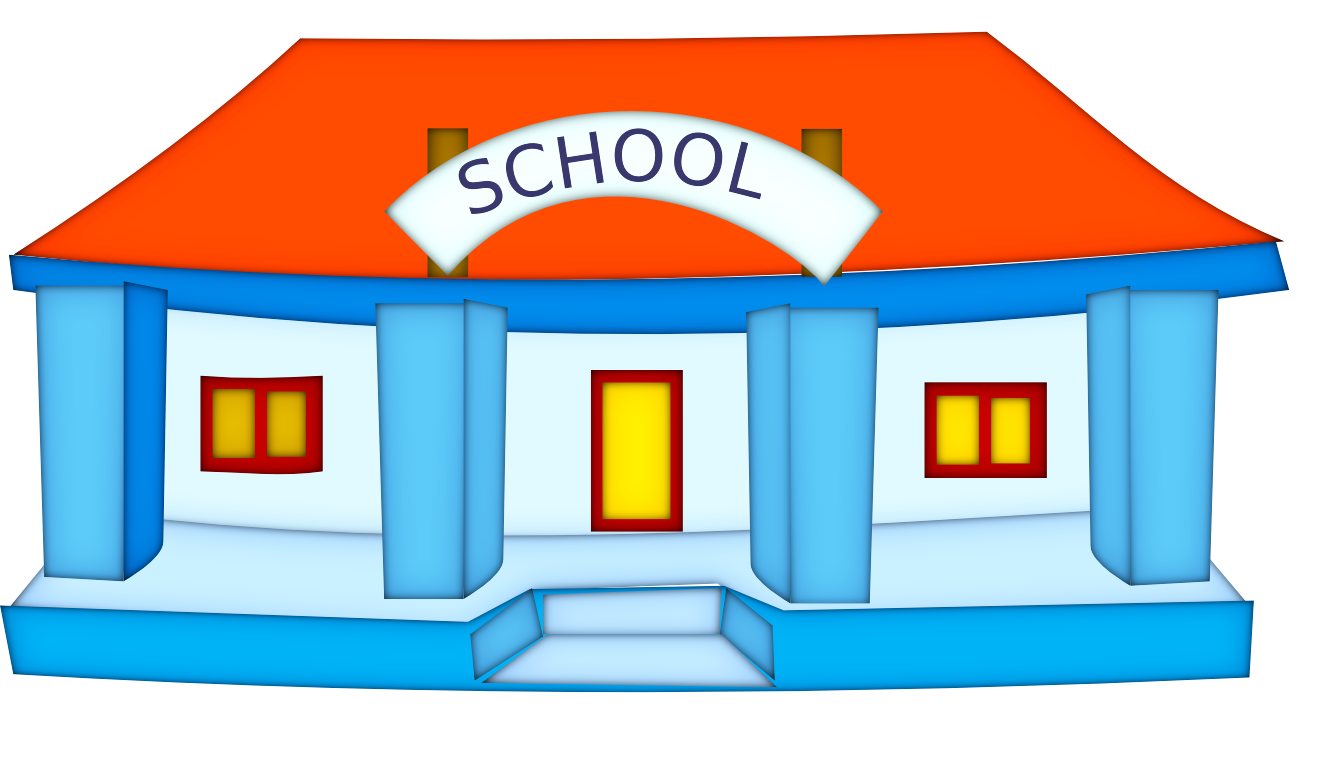 School building clipart free