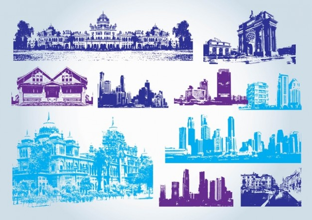 Building clipart vector free download jpg library download Buildings Clip Art Vector | Free Download jpg library download