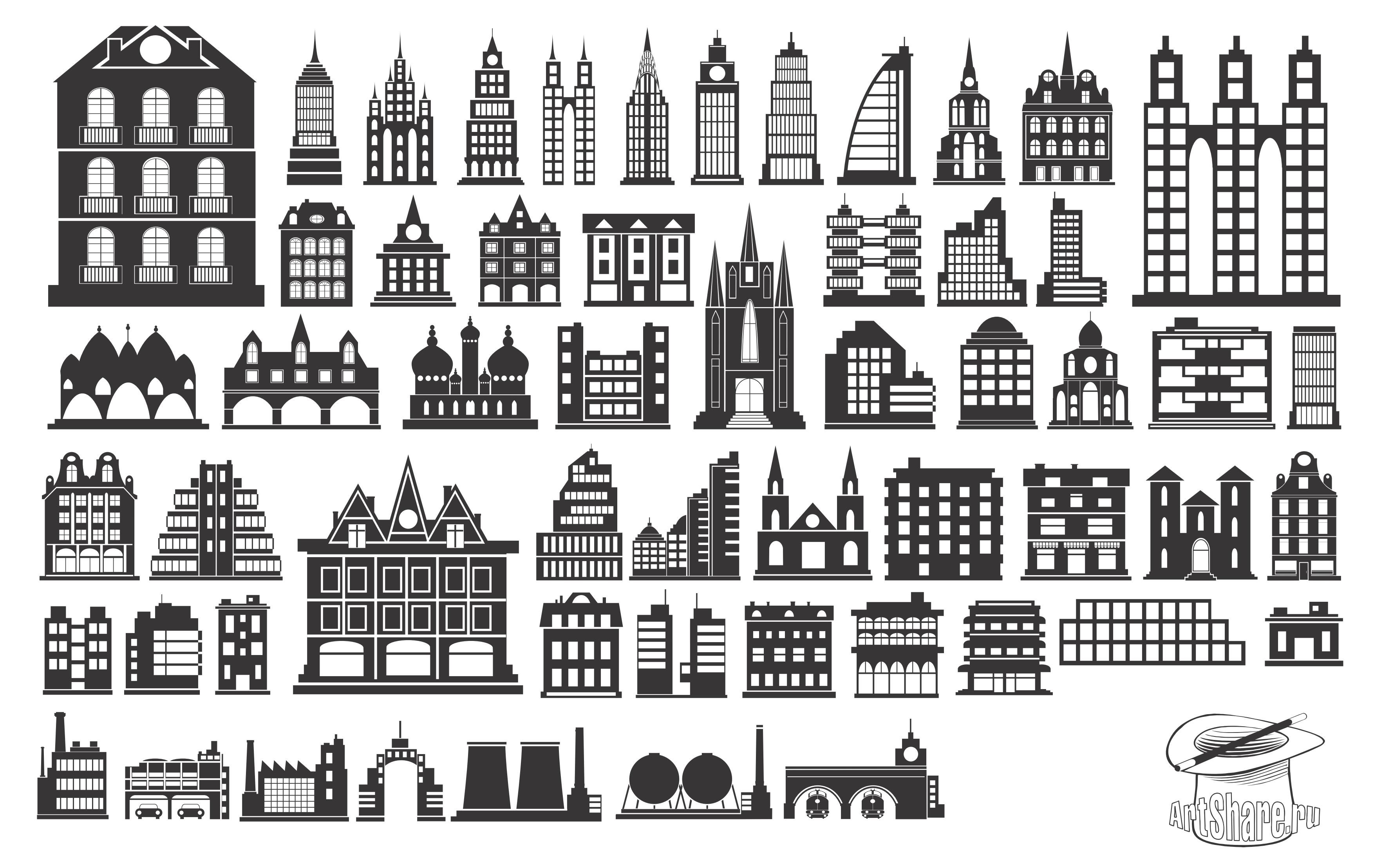 Building clipart vector free download banner royalty free Building clipart vector free download - ClipartFest banner royalty free