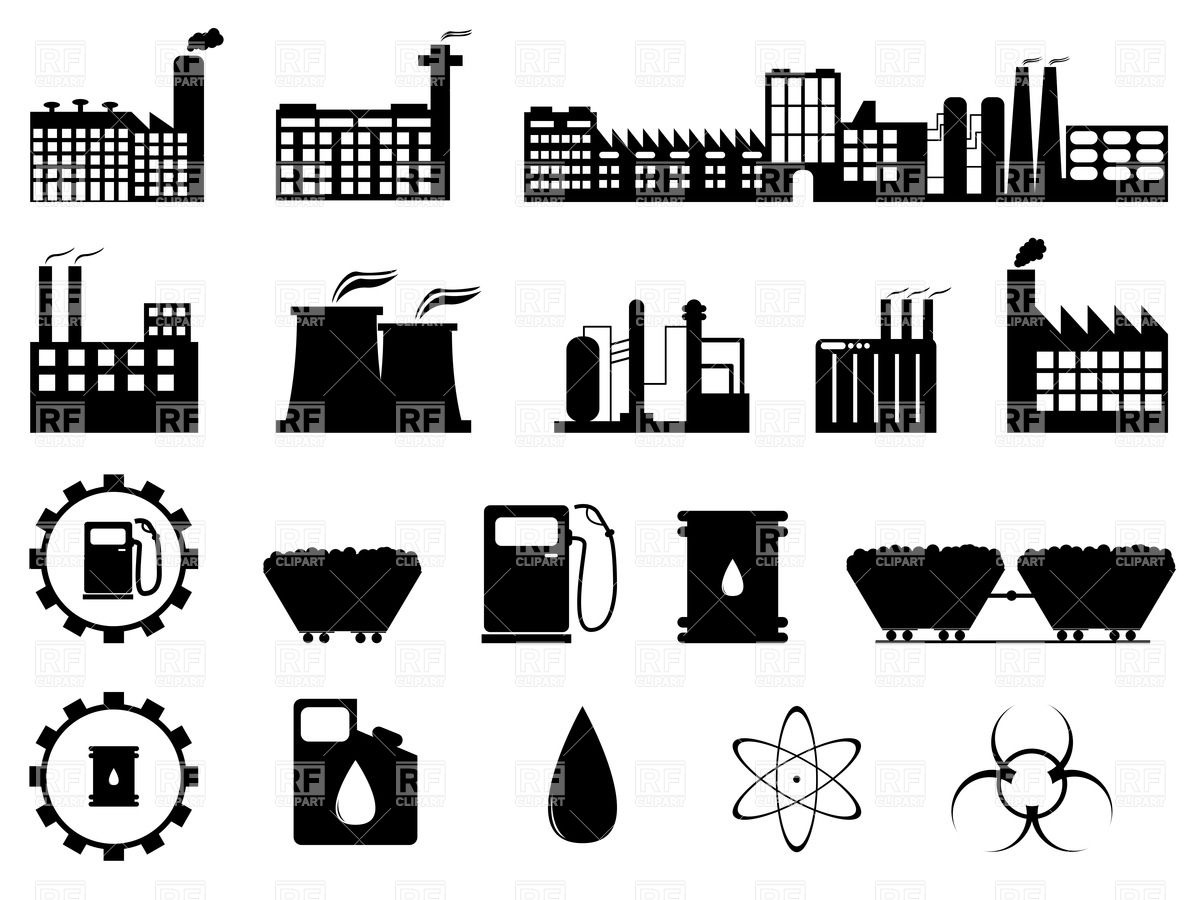 Building clipart vector free download image transparent stock Industrial clip art free download - ClipartFest image transparent stock