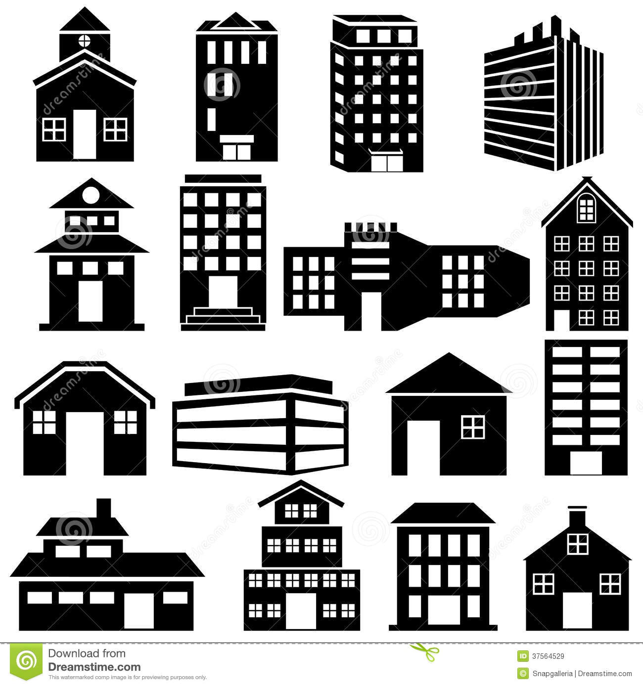 Building clipart vector free download svg transparent download Building clipart vector free download - ClipartFest svg transparent download
