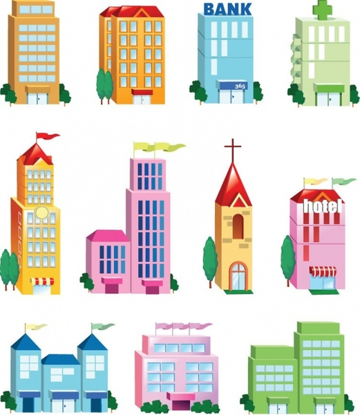 Building clipart vector free download jpg free Building free vector download (1,573 Free vector) for commercial ... jpg free