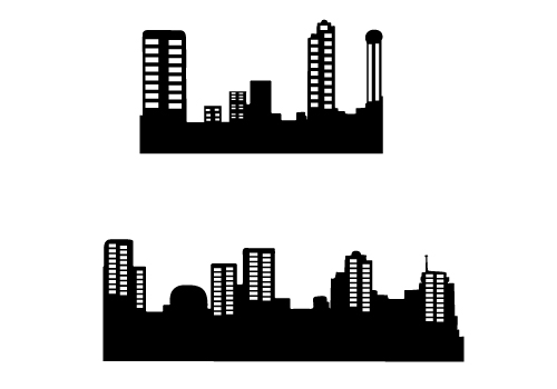 Building clipart vector free download image freeuse download High Quality Building Silhouette Vector Free Download image freeuse download