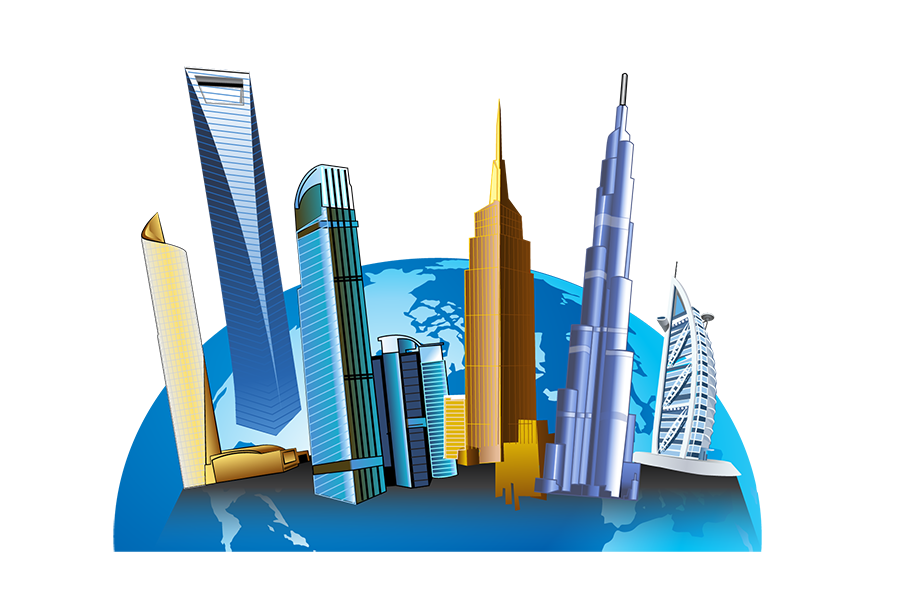 Building cliparts vector royalty free download Tall Building Clipart - Clipart Kid vector royalty free download