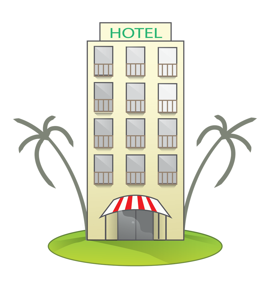 Building cliparts graphic freeuse stock Motel Building Clipart graphic freeuse stock