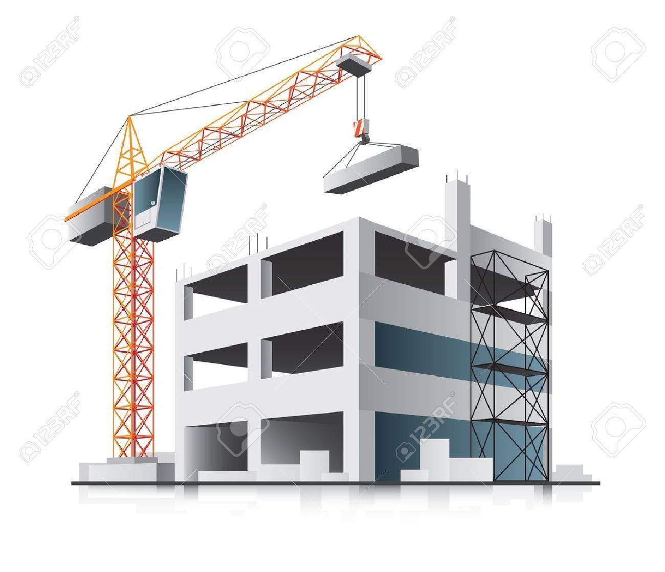 Building construction cliparts png free library Building construction site clipart 7 » Clipart Portal png free library