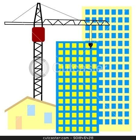 Building construction site clipart picture black and white stock Building Construction Clipart - Clipart Kid picture black and white stock