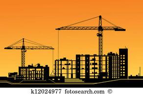 Building construction site clipart clip transparent Construction site Clipart EPS Images. 12,715 construction site ... clip transparent