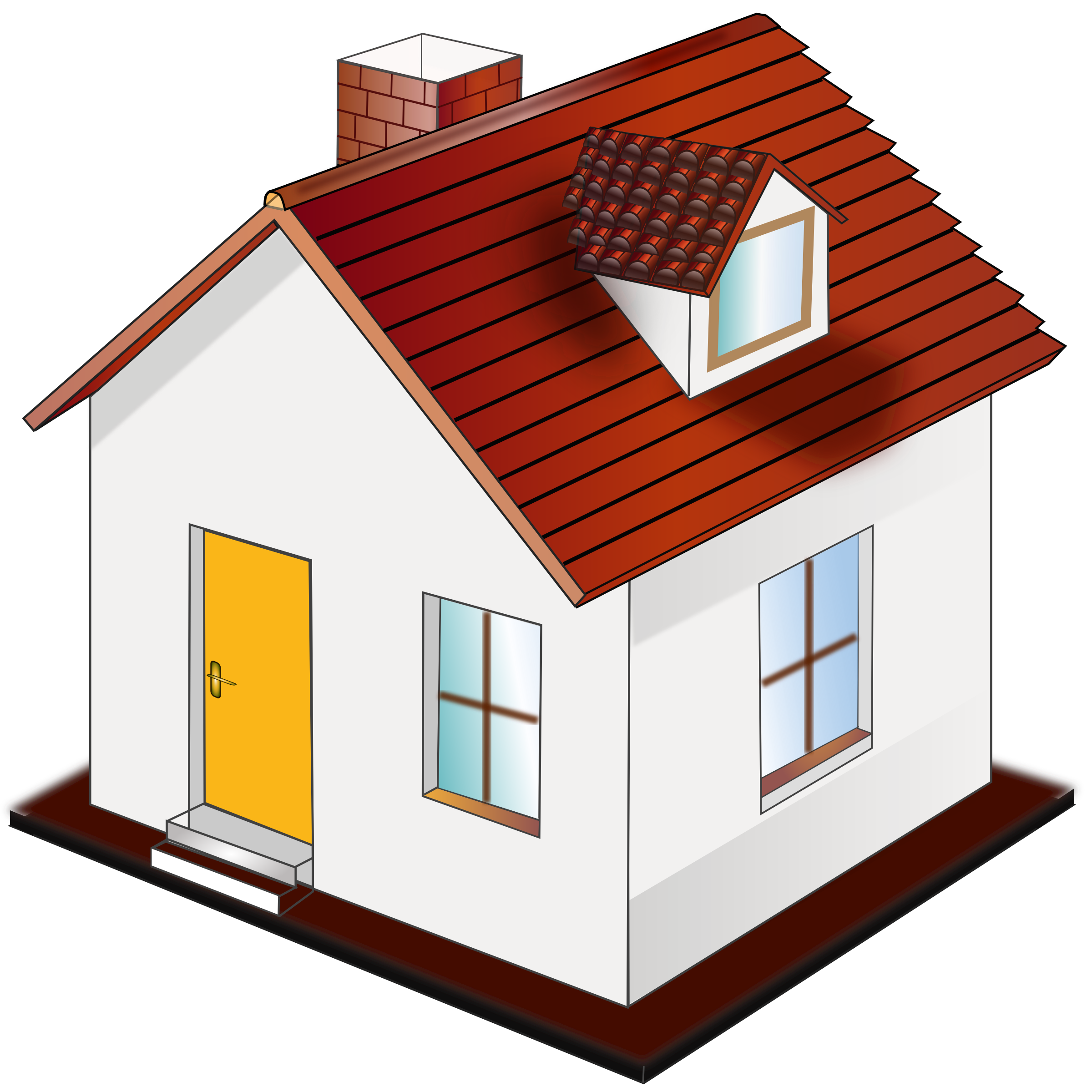 Building house clipart clip royalty free library House YouTube Clip art - homes 2400*2400 transprent Png Free ... clip royalty free library