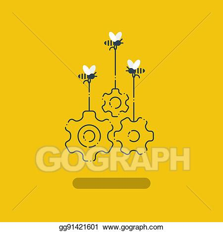 Building innovation clipart clip art library Vector Art - Innovation ideas, collaboration project, work together ... clip art library