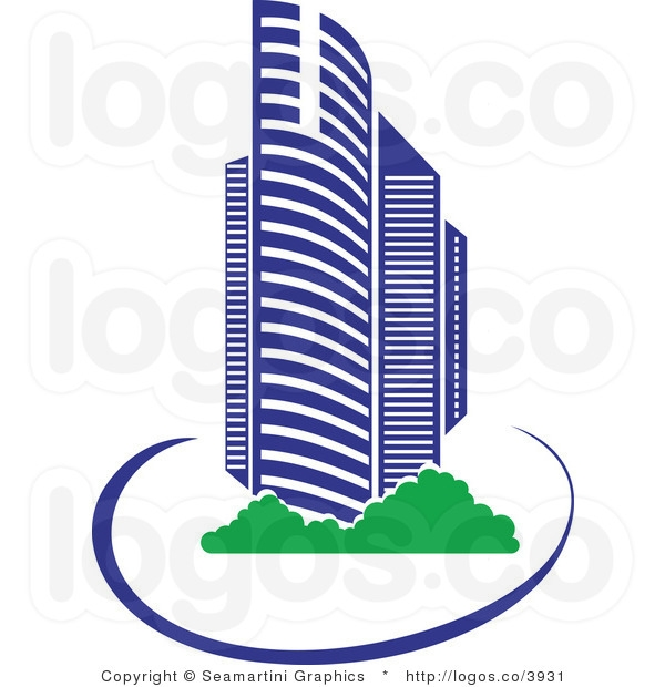 Building logo clipart. Clipartfest buildings with sun