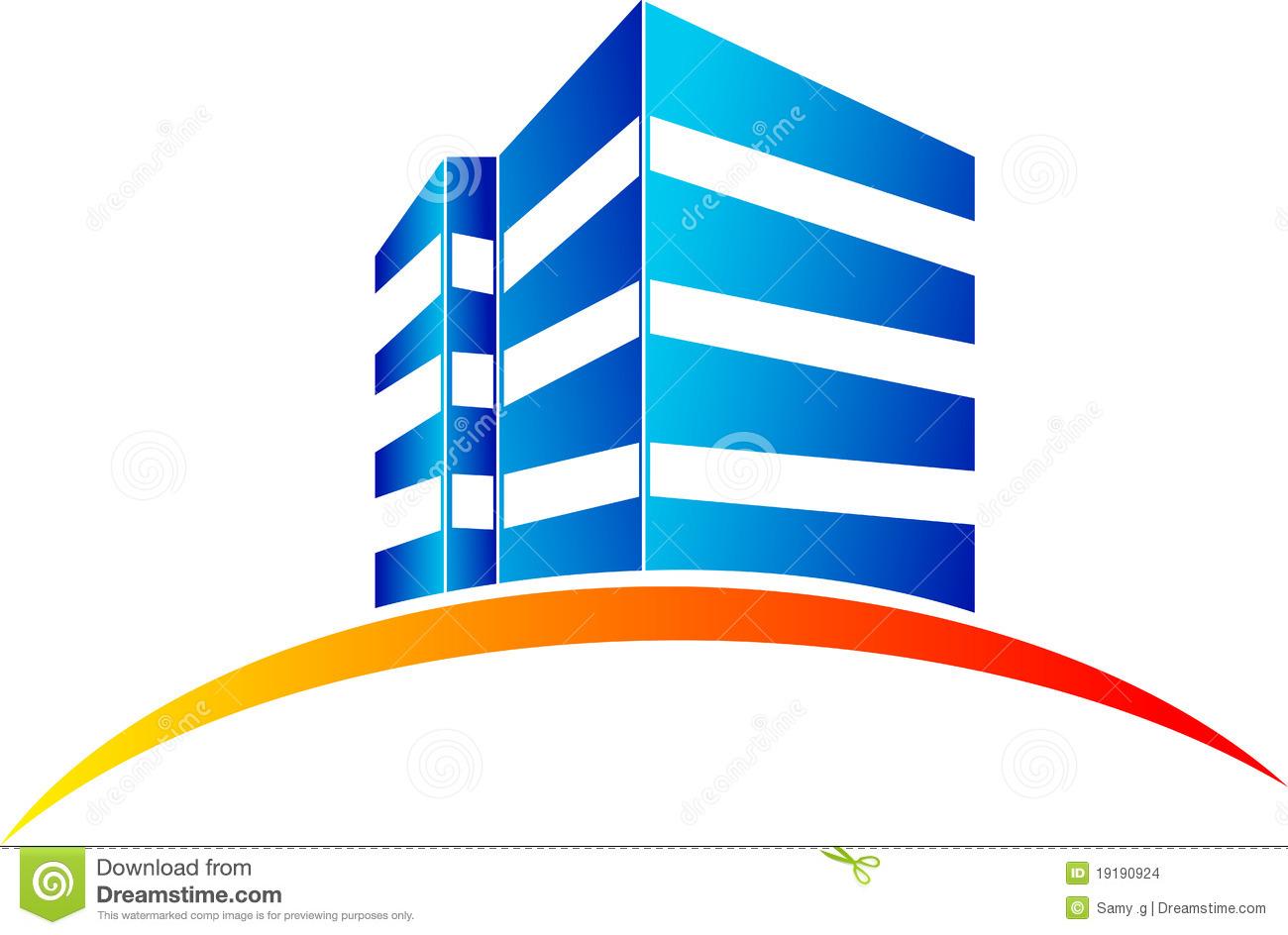 Building logo clipart stock Building logo clipart - ClipartFest stock