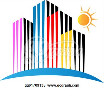Building logo clipart. Clipartfest city stock condominiumclipart