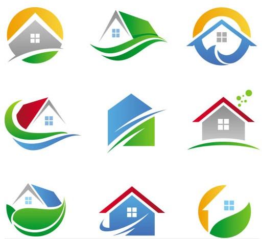 Building logo clipart clip art library library Shiny Building Logo vector | AI format free vector download ... clip art library library