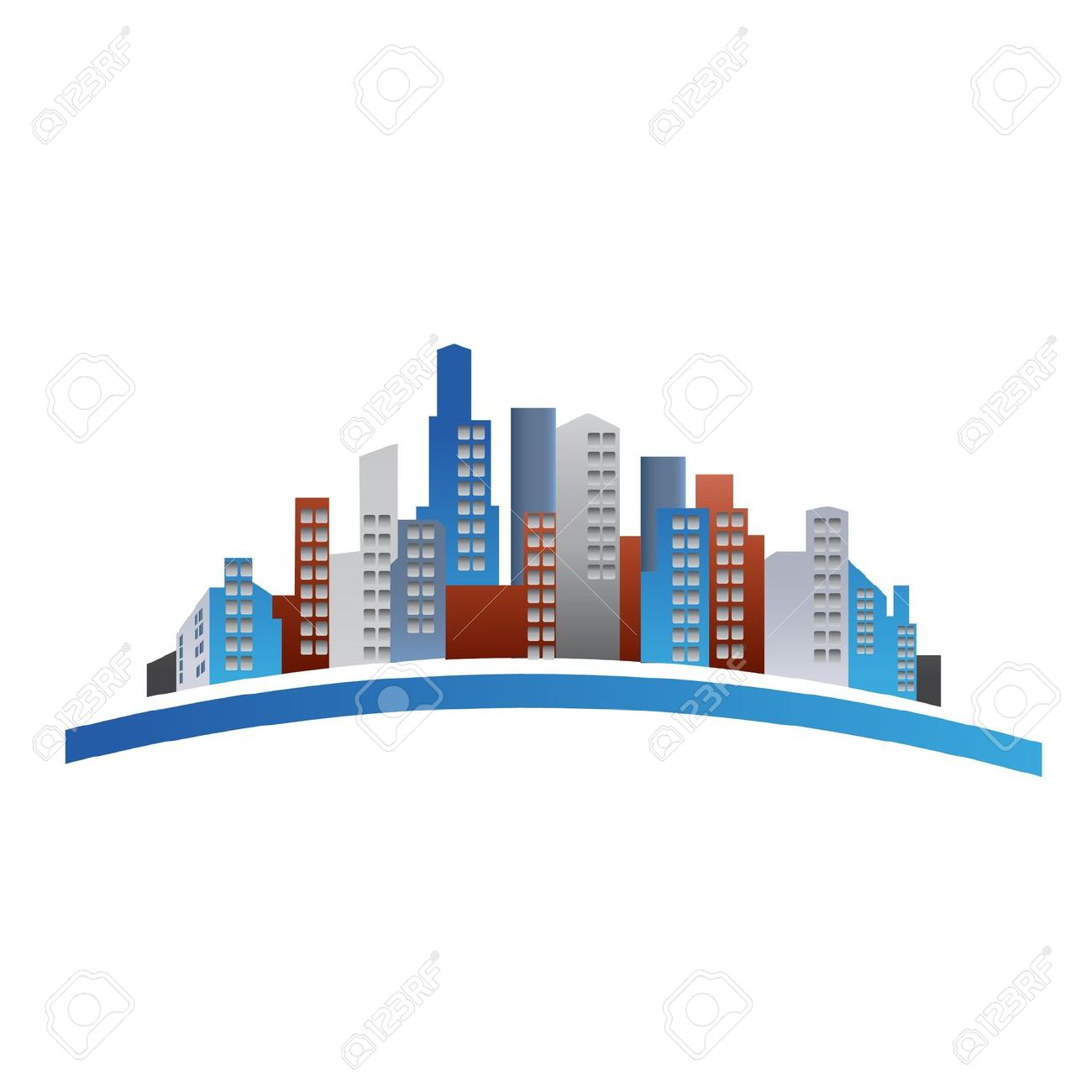 Building logo cliparts jpg freeuse download Buildings Logo Royalty Free Cliparts, Vectors, And Stock ... jpg freeuse download