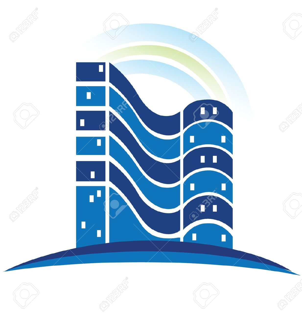 Building logo cliparts