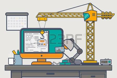 Building site clipart vector freeuse download 19,230 Building Site Stock Vector Illustration And Royalty Free ... vector freeuse download